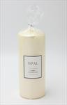 Sv svíčka Opal válec velký krém - velkoobchod, dovoz květin, řezané květiny Brno