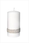 SV Crystal perla válec střední bílý - velkoobchod, dovoz květin, řezané květiny Brno