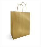 Ob taška Metallic kraft 18x22cm gold - velkoobchod, dovoz květin, řezané květiny Brno