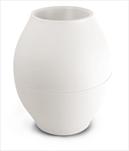 Plast váza Diabolo 150mm/176mm bílá - velkoobchod, dovoz květin, řezané květiny Brno