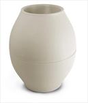 Plast váza Diabolo 150mm/176mm šedá - velkoobchod, dovoz květin, řezané květiny Brno