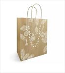 Ob taška kraft Precieux 19x21cm - velkoobchod, dovoz květin, řezané květiny Brno