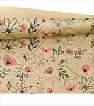 OB PAPÍR KRAFT 0,79X40M Lilou Coral - velkoobchod, dovoz květin, řezané květiny Brno