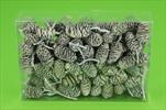 Su šišky olše bělené 0,23kg - velkoobchod, dovoz květin, řezané květiny Brno