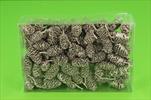 Su šišky olše 0,25kg stříbrno-růžové - velkoobchod, dovoz květin, řezané květiny Brno