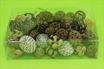 Su šišky mix natur 0,22kg - velkoobchod, dovoz květin, řezané květiny Brno