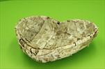 Miska bříza srdce 30cm - velkoobchod, dovoz květin, řezané květiny Brno