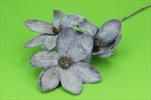 Uk Magnolia glitr 45cm tmavě fialová - velkoobchod, dovoz květin, řezané květiny Brno