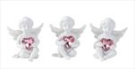 Ke anděl s růžovým srdcem sedící - velkoobchod, dovoz květin, řezané květiny Brno