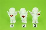 KE Anděl stojící s červeným srdcem - velkoobchod, dovoz květin, řezané květiny Brno