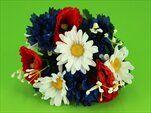 UK kytice mák,chrpa,kopretina - velkoobchod, dovoz květin, řezané květiny Brno
