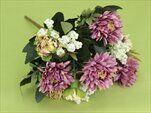 Uk kytice bílo-fialová - velkoobchod, dovoz květin, řezané květiny Brno