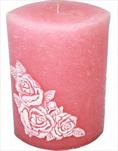 Svíčka Rosana elipsa - velkoobchod, dovoz květin, řezané květiny Brno