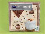 DO UBROUSKY 33X33CM 20KS COFFEE - velkoobchod, dovoz květin, řezané květiny Brno
