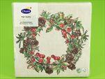 DO UBROUSKY 33X33CM 20KS Forest wreath - velkoobchod, dovoz květin, řezané květiny Brno