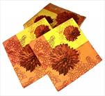 Ubrousky 33x33cm podzim 20ks - velkoobchod, dovoz květin, řezané květiny Brno