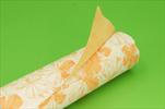 Role papír voděodolný Solanum 0,8x40m oranžová - velkoobchod, dovoz květin, řezané květiny Brno