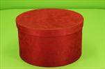 Ob flower box S/2 26x15/24,5x14cm červený - velkoobchod, dovoz květin, řezané květiny Brno