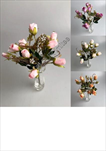 Uk kytice růže 33cm - velkoobchod, dovoz květin, řezané květiny Brno