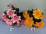 Uk jiřina kytice 34cm - velkoobchod, dovoz květin, řezané květiny Brno
