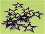Hvězdičky plast 24ks/5cm fialová - velkoobchod, dovoz květin, řezané květiny Brno