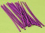 Kroucený drát floristický 20ks/25cm fialová - velkoobchod, dovoz květin, řezané květiny Brno