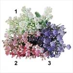 Kytička zápich pvc x6/25cm mix - velkoobchod, dovoz květin, řezané květiny Brno