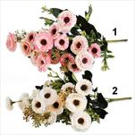Sedmikráska kytice umělá 35cm mix - velkoobchod, dovoz květin, řezané květiny Brno