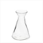 Váza sklo pr.6,9V11cm čirá - velkoobchod, dovoz květin, řezané květiny Brno