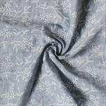 Látka polyester 36cm/5m modrá jeans - velkoobchod, dovoz květin, řezané květiny Brno