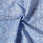Látka polyester 36cm/5m modrá - velkoobchod, dovoz květin, řezané květiny Brno