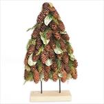 Strom šišky 48cm natural - velkoobchod, dovoz květin, řezané květiny Brno