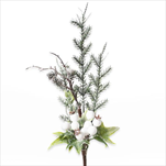 Zápich vánoční umělý 30cm - velkoobchod, dovoz květin, řezané květiny Brno
