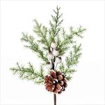 Vánoční zápich umělý 30cm - velkoobchod, dovoz květin, řezané květiny Brno
