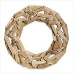 Kruh dřevo pr.40cm natural - velkoobchod, dovoz květin, řezané květiny Brno