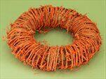 Kruh ratan pr.25cm oranžová - velkoobchod, dovoz květin, řezané květiny Brno