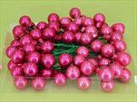 Koule zápich sklo 72ks/2cm růžová - velkoobchod, dovoz květin, řezané květiny Brno