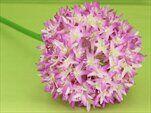 Česnek umělý V90cm růžová - velkoobchod, dovoz květin, řezané květiny Brno
