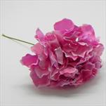 Hortenzie zápich umělá tm.růžová - velkoobchod, dovoz květin, řezané květiny Brno