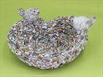 Krmítko kamínky magnesium 31x28cm - velkoobchod, dovoz květin, řezané květiny Brno