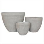 Obal laminát/cement S/3 pr.60-33,V48,5-27,5cm šedá - velkoobchod, dovoz květin, řezané květiny Brno