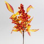 Přízdoba podzim umělá 28cm - velkoobchod, dovoz květin, řezané květiny Brno