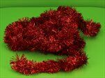 Řetěz vánoce 7cm/6m červená - velkoobchod, dovoz květin, řezané květiny Brno