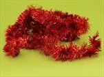 Řetěz vánoce 5cm/2m červená - velkoobchod, dovoz květin, řezané květiny Brno