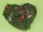 Srdce mech  20x20,V4.5cm - velkoobchod, dovoz květin, řezané květiny Brno