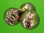 Baňky pvc 3ks/6cm sv.bronz - velkoobchod, dovoz květin, řezané květiny Brno