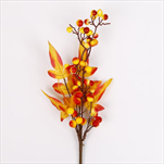Bobule větev podzim 43 cm - velkoobchod, dovoz květin, řezané květiny Brno