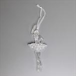 Baletka závěs pvc 13cm čirá/gliter - velkoobchod, dovoz květin, řezané květiny Brno