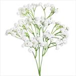 Gypsophila umělá 64cm bílá - velkoobchod, dovoz květin, řezané květiny Brno