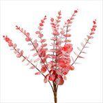 Eucalyptus umělý 40cm červená - velkoobchod, dovoz květin, řezané květiny Brno
